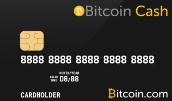 bitcoin cash visa