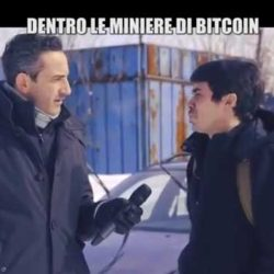 le iene mining bitcoin