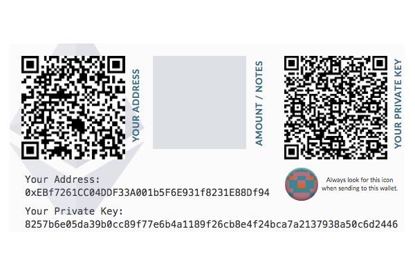 Come stampare Bitcoin (ovvero fare un portafoglio di carta)