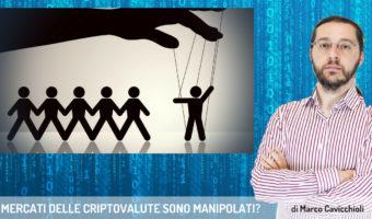 I mercati delle criptovalute sono manipolati