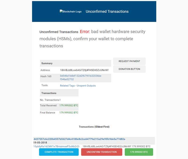 notifica di pagamento bitcoin