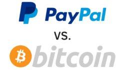 Paypal vs Bitcoin