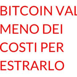 Bitcoin costo mining