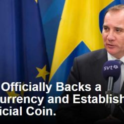 Sweden Officially Backs a CryptoCurrency and Establishes it as their Official Coin