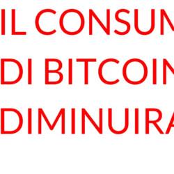 bitcoin consumo