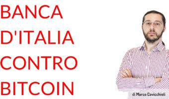 Banca d'Italia contro Bitcoin