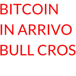 bitcoin bull cross