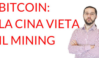 Bitcoin Cina vieta il mining