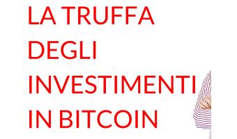 La truffa degli investimenti in bitcoin