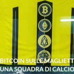 Bitcoin magliette squadra di CALCIO