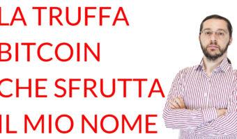 La truffa bitcoin Marco Cavicchioli