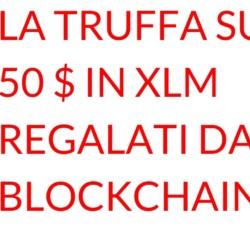 truffa guida XLM blockchain
