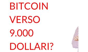 Bitcoin 9000 dollari