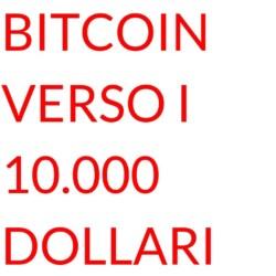 Bitcoin diecimila dollari