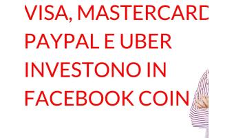 Facebook coin Visa Mastercard Paypal Uber