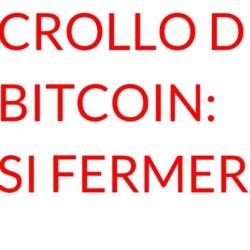 Crollo di Bitcoin