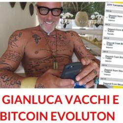 Gianluca Vacchi pomeriggio cinque bitcoin evolution