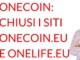 OneCoin chiusi i siti onecoin e onelife