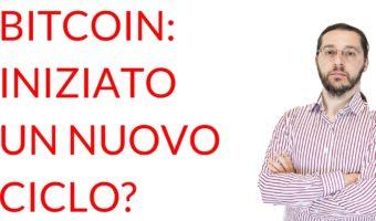 Bitcoin nuovo ciclo