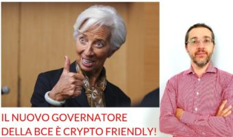 Governatore BCE crypto friendly