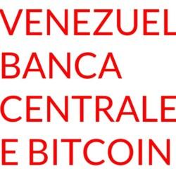 Banca Centrale Venezuela bitcoin