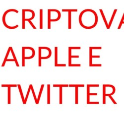 Criptovalute Apple Twitter