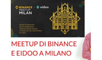 Meetup Milano Binance e Eidoo