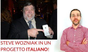 Steve Wozniak progetto ITALIANO blockchain