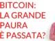 Bitcoin la grande paura è passata