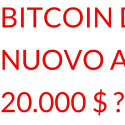 Bitcoin a ventimila dollari?
