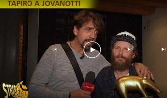 Tapiro d'oro a Jovanotti
