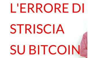 errore Striscia la Notizia Bitcoin