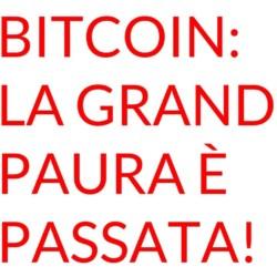 Bitcoin grande paura passata