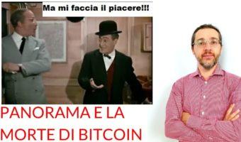 Panorama fine Bitcoin