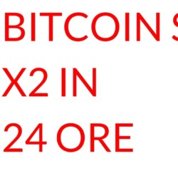 Bitcoin SV RADDOPPIA di valore in 1 giorno
