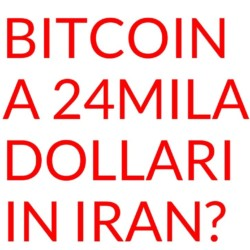 Bitcoin a 24MILA dollari su Localbitcoins in Iran