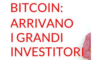 Bitcoin grandi investitori istituzionali