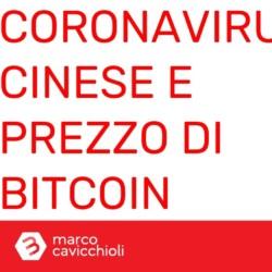 Coronavirus cinese prezzo bitcoin