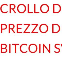 Crollo di Bitcoin SV