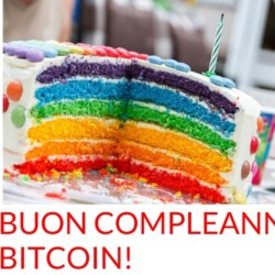 Tanti auguri a Bitcoin