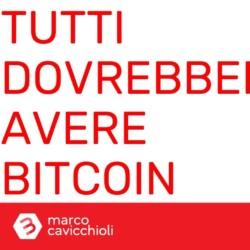 Tutti dovrebbero avere bitcoin