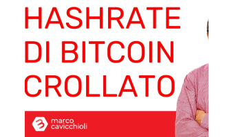 Crollo hashrate Bitcoin