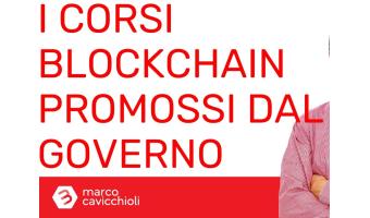 corsi blockchain governo italiano