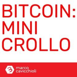 Mini crollo bitcoin