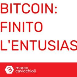 Bitcoin halving entusiasmo finito