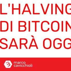 Halving Bitcoin oggi