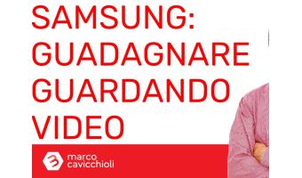 Samsung guadagnare guardando video