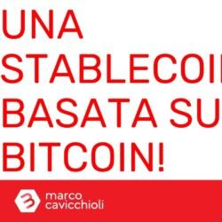stablecoin basata su bitcoin