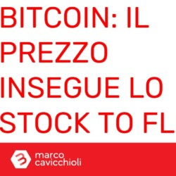 Bitcoin insegue lo stock to flow