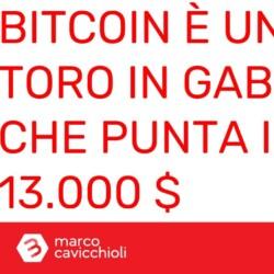 Bitcoin toro in gabbia